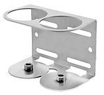 Mounting bracket STAR Heavy Duty C-section 2-point G1/4 female (stainless steel)